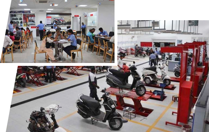 B.U.Bhandari Honda - Pune Showroom