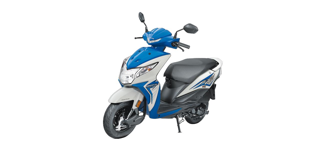 Honda Dio - Blue Color