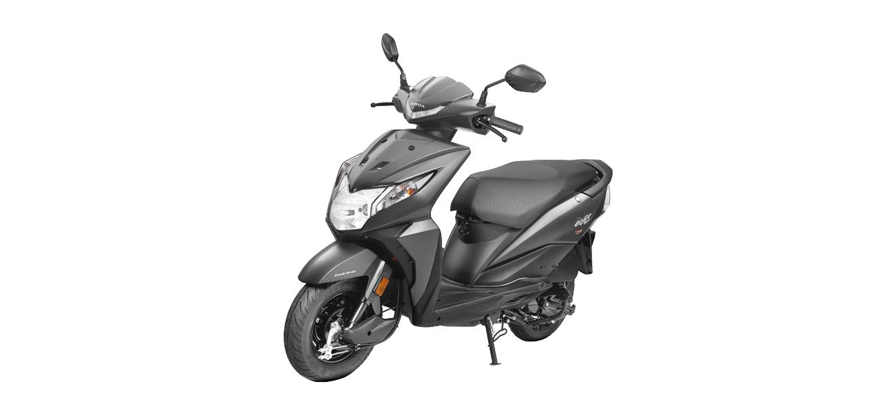 Honda Dio - Gray color