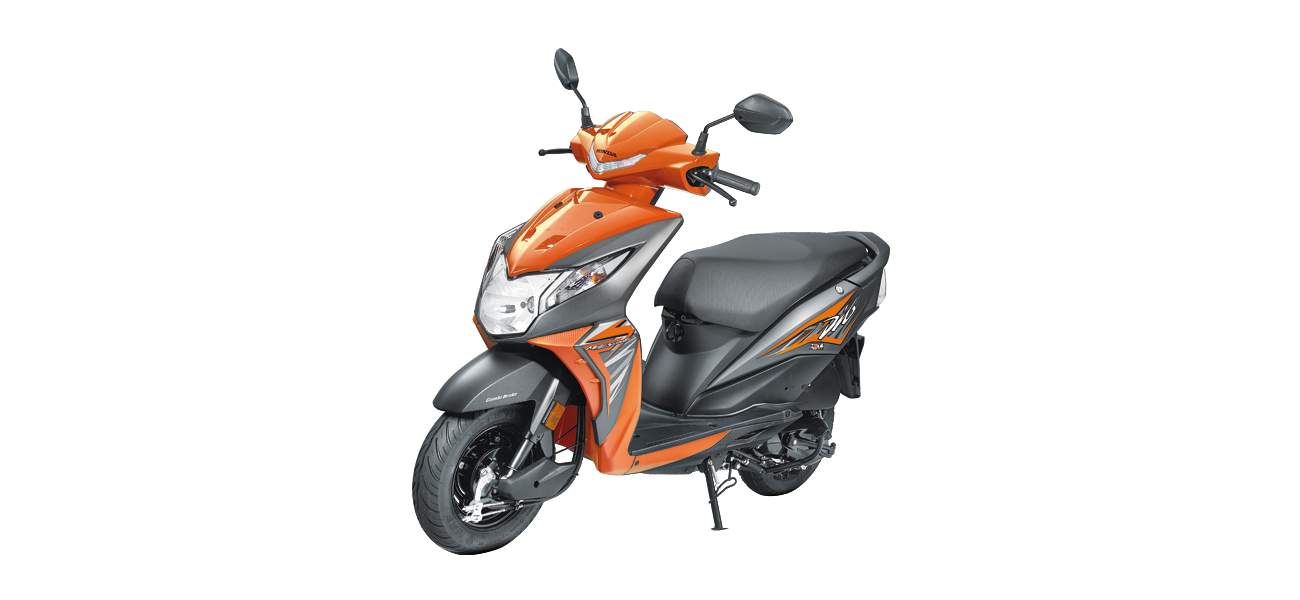 Honda Dio - Orange color