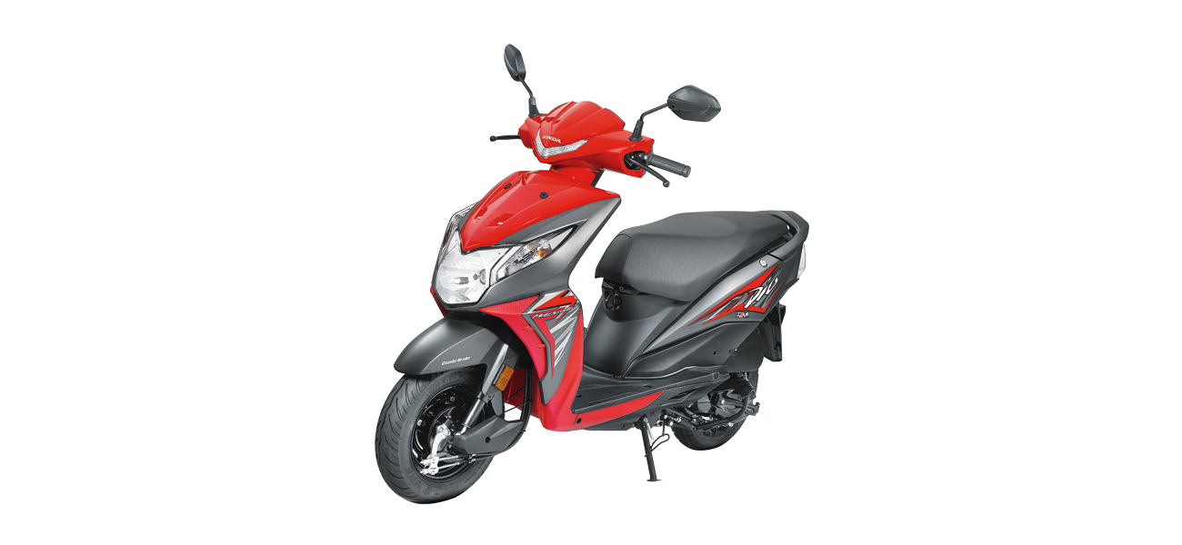 Honda Dio Scooter in Pune Showroom