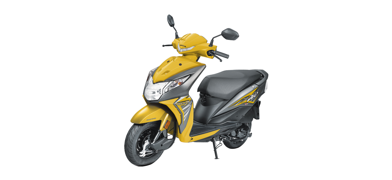 Honda Dio - Yellow color