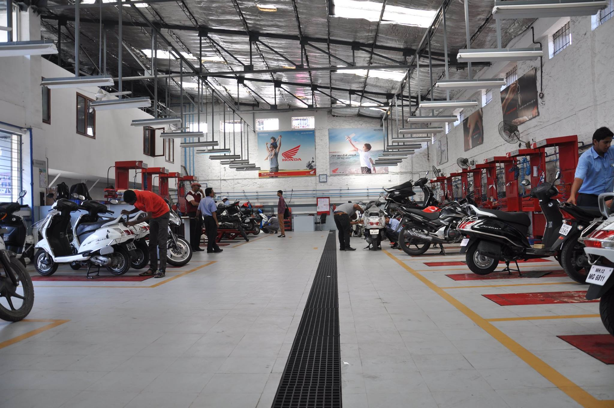 authorized honda two wheeler service center in pune