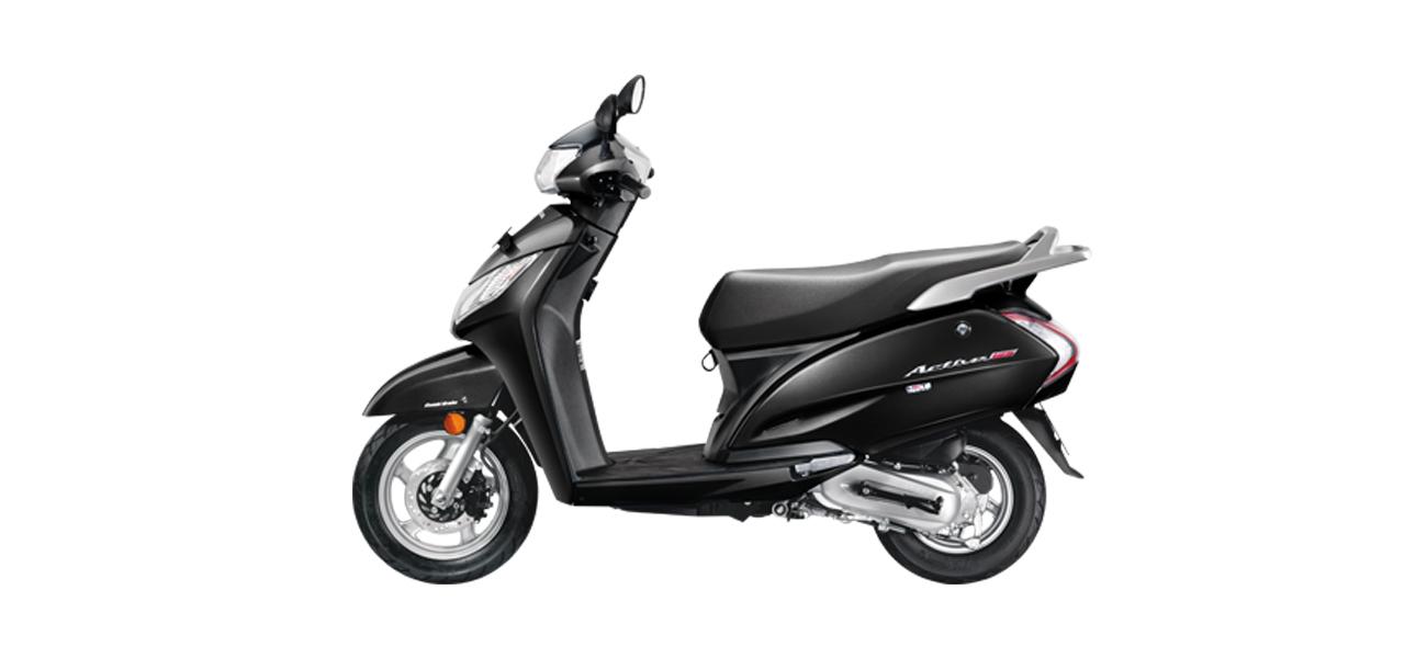 Honda activa 125 - black color