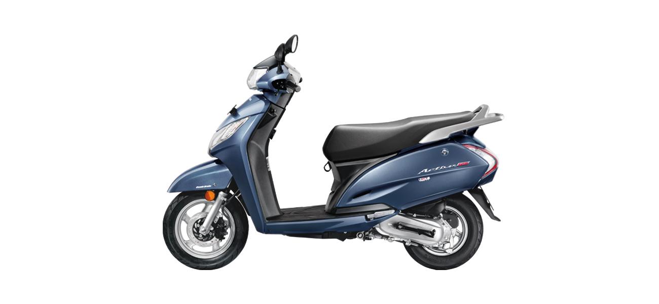 Honda Activa 125 - Blue color