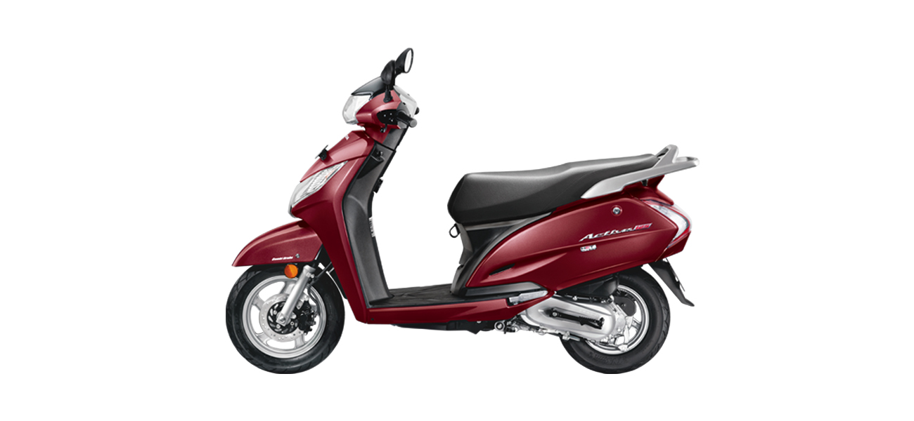 Honda Activa 125cc -Red color