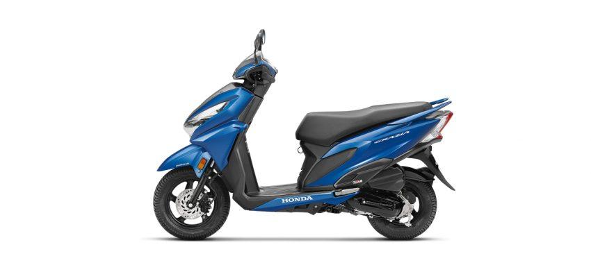 Honda Grazia - Blue color