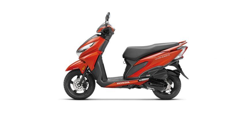 New Honda Grazia - Red Color
