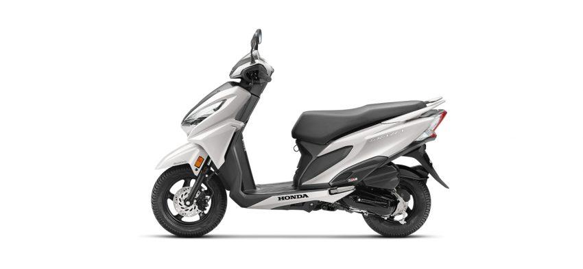 Honda Grazia - White color