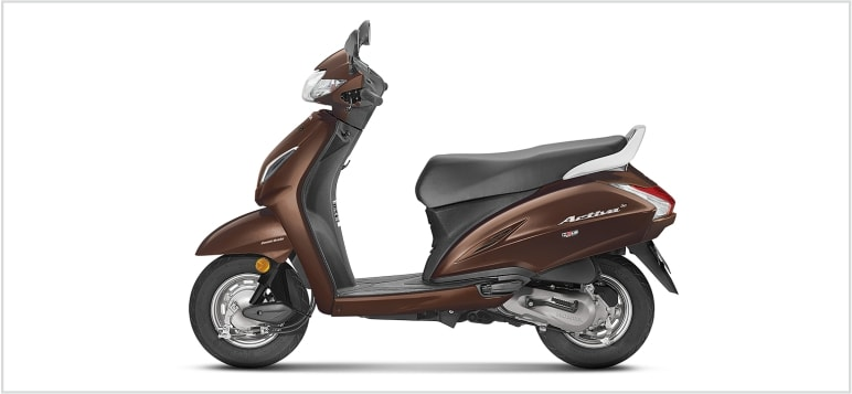 Honda New Scooter Activa 5G - Metallic Brown
