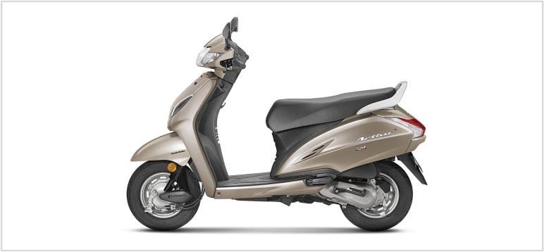 Honda Activa 5G - Matt Selene Silver
