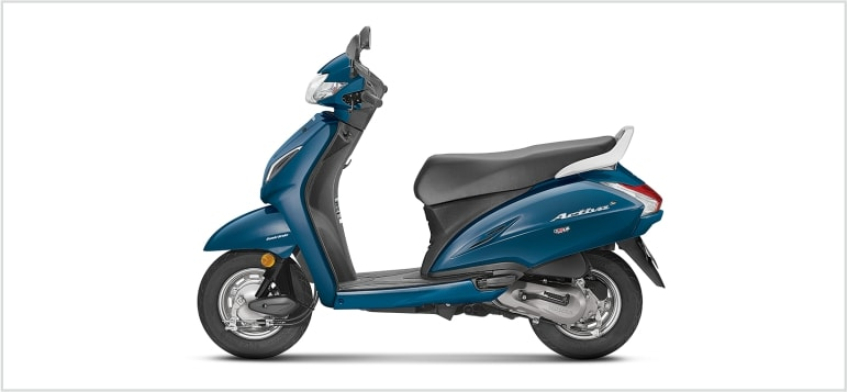 Honda Activa 5G - Blue Metallic
