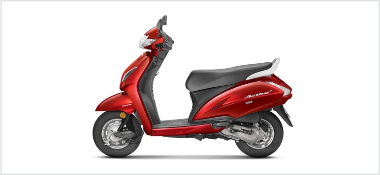 Honda Activa 5G - Red Colour