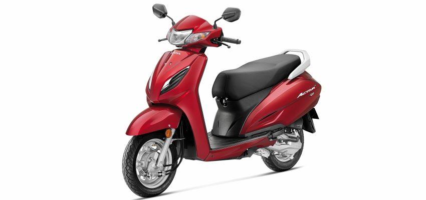 Honda Activa 6G - Red