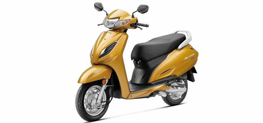 Honda Activa 6G - yellow at pune