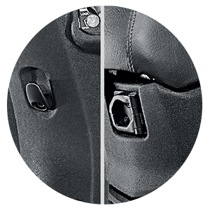 Honda activa 5G - NEW FRONT HOOK AND RETRACTABLE REAR HOOK