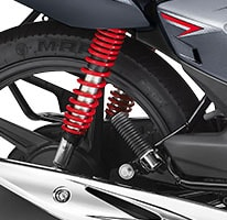 5 Step Adjustable Suspension - honda shine SP