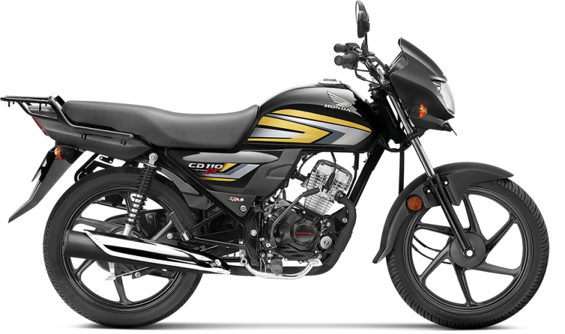 Black with Cabin Gold - Honda CD 110 Dream