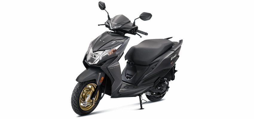 Honda DEO (BS-VI) -Deluxe Grey