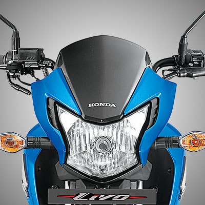 Honda Livo with EDGY FRONT LOOK