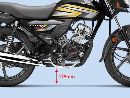 Honda cd 110 Dream - GROUND CLEARANCE