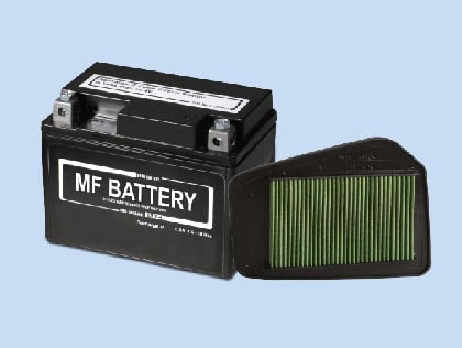 MF BATTERY & VISCOUS FILTER - Honda Cd 110