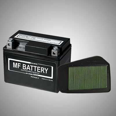 Honda Livo - MF BATTERY & VISCOUS FILTER