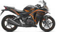 CBR - Matte Axis Gray Metallic with MarsOrange