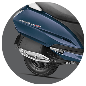 Activa 125 - Metal Muffler