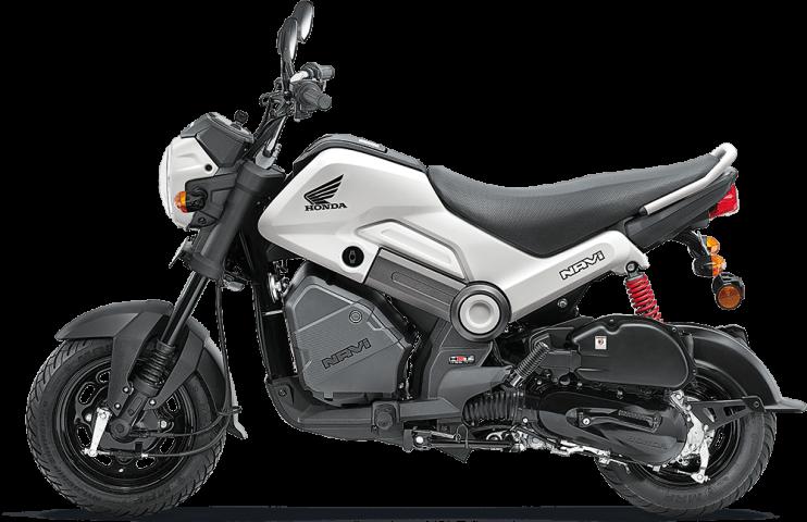 Honda Navi white colour