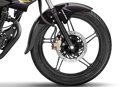 Split Alloy Wheels Honda Bike