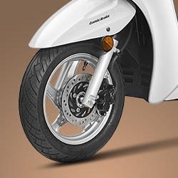 TUBELESS TYRES - Honda aviator