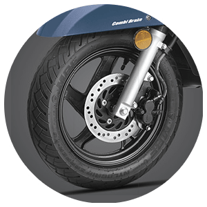 Honda Activa 125 - Telescopic Suspension