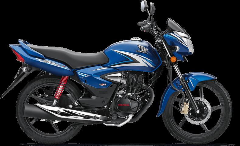 Honda CB Shine Blue