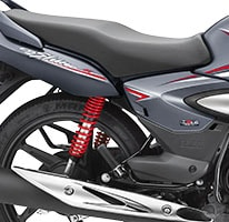 Honda CB Shine -comfortable Long Seat