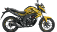 Honda Hornet - dazzle Yellow Metallic