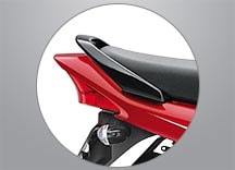 Honda Dream Yuga - STYLISH GRAB RAIL