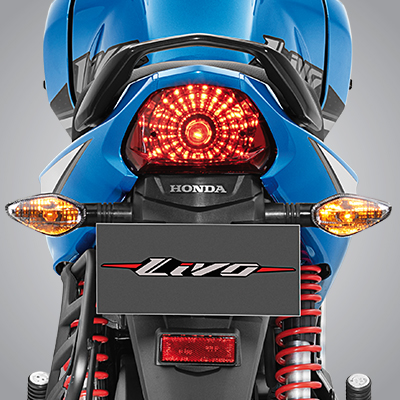 Livo- STRONG REAR APPEARANCE