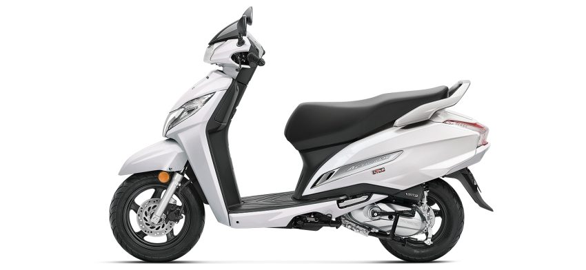 Activa 125 New - pearl white