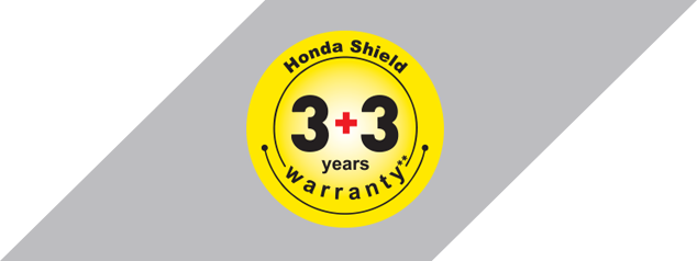 Honda SP 125 - 3+3 YEARS WARRANTY PACKAGE
