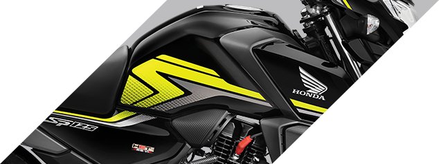 Honda SP 125 - AGGRESSIVE TANK DESIGN WITH EDGY GRAPHICS