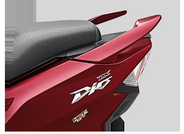 Honda DEO - SPLIT GRAB RAIL
